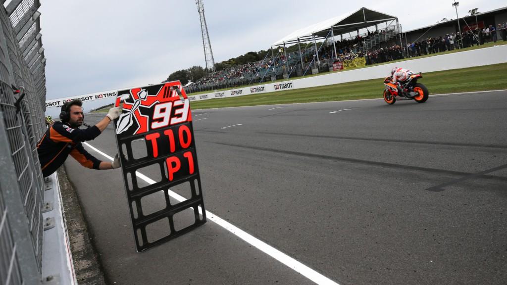 Marc Marquez, Repsol Honda Team, AUS WUP