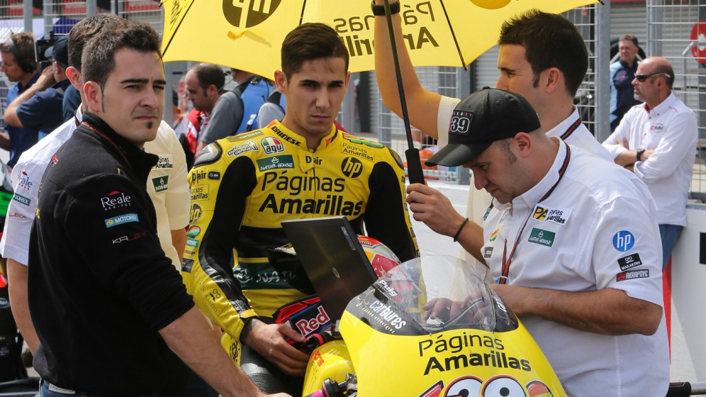 Luis Salom, Paginas Amarillas HP 40, AUS RACE