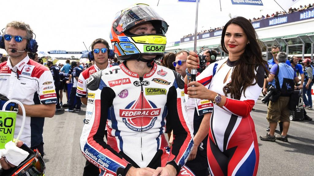 Xavier Simeon, Federal Oil Gresini Moto2, AUS RACE