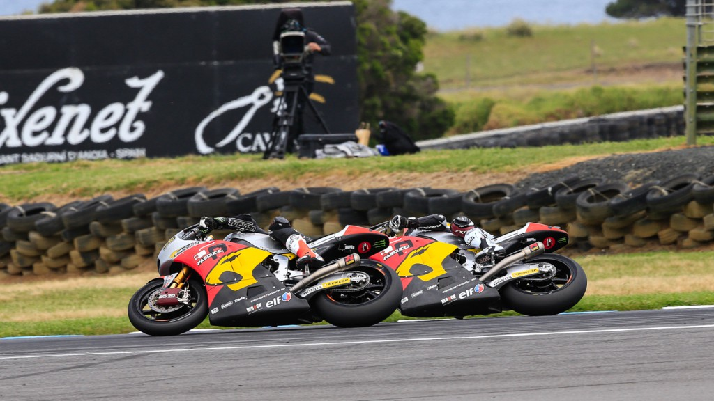 Mika Kallio, Esteve Rabat, Marc VDS Racing Team, AUS RACE