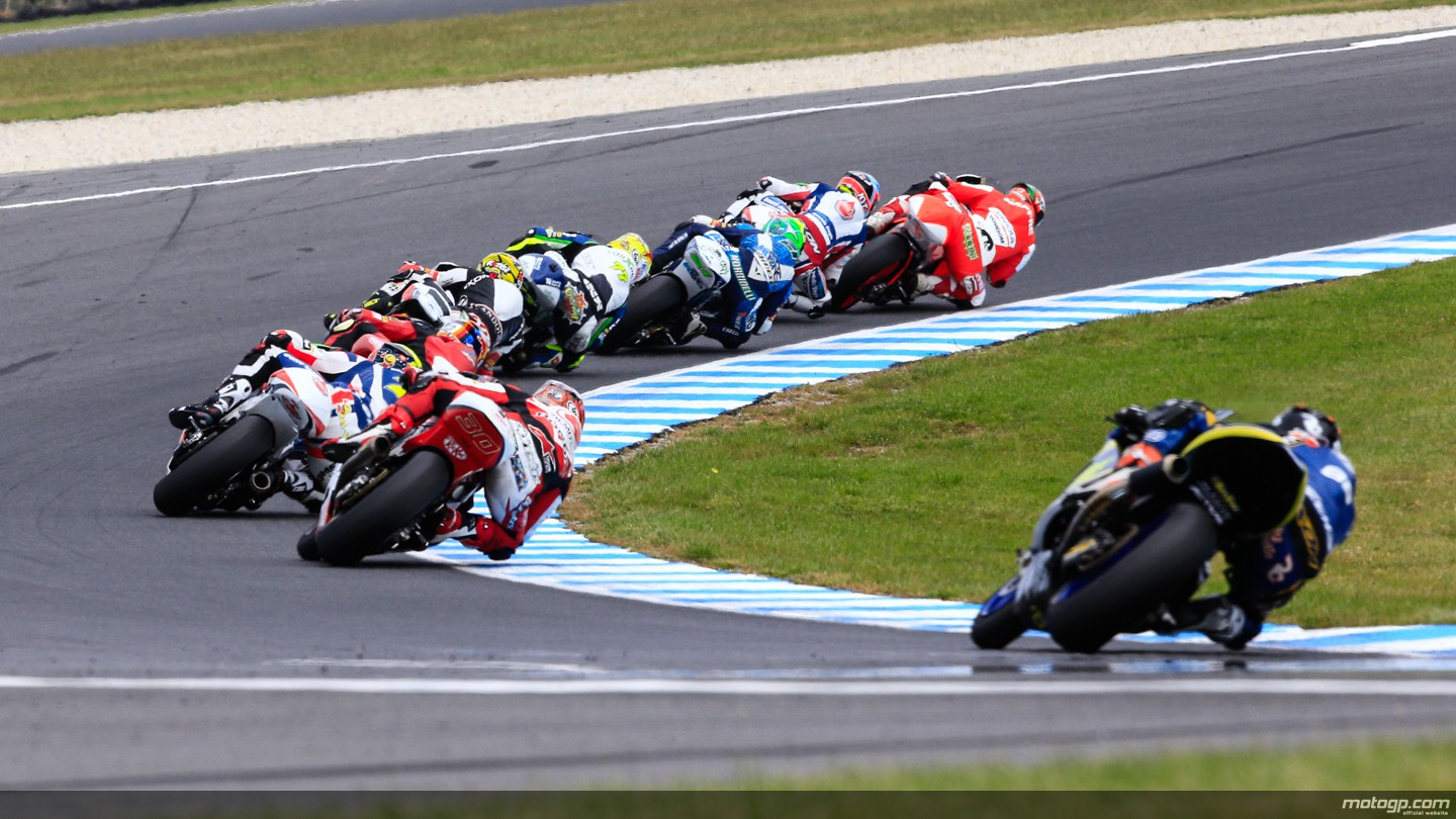 motogp.com · Moto2 Action, AUS RACE