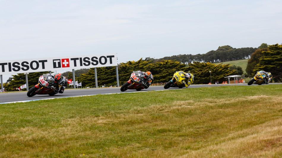 motogp.com · Moto2 Action, AUS RACE