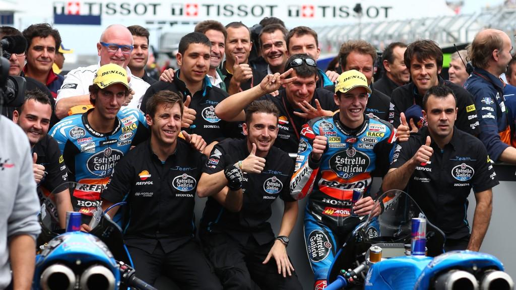 Alex Marquez, Alex Rins, Estrella Galicia 0,0, AUS RACE