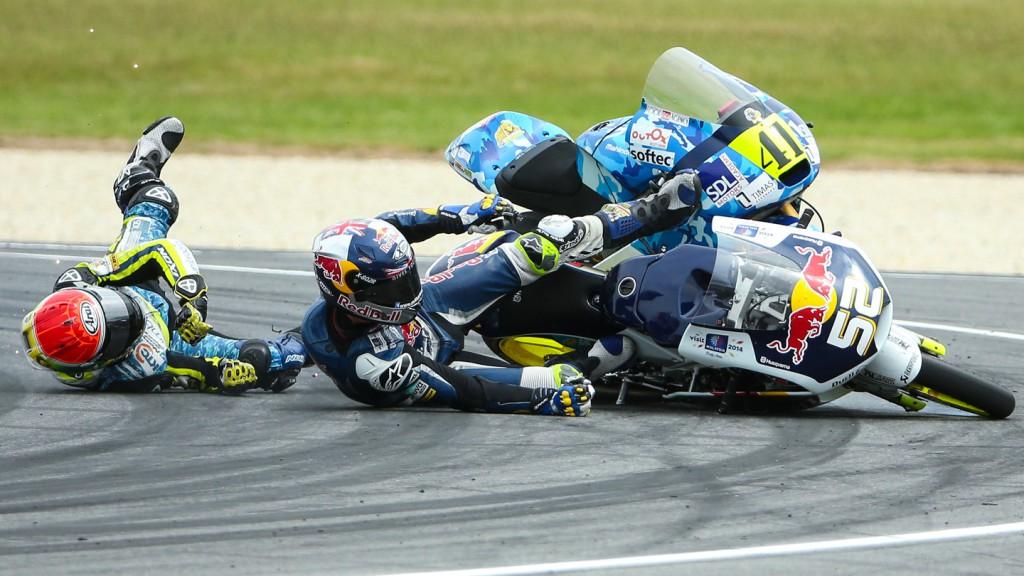 Brad Binder, Danny Kent, Ambrogio Racing, Red Bull Husqvarna Ajo, AUS RACE