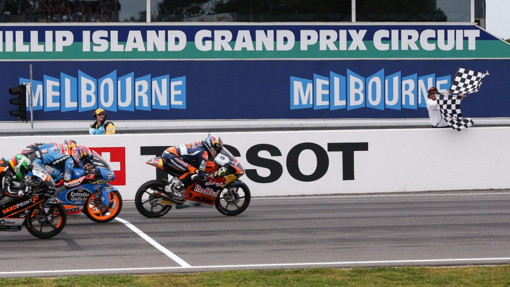 Moto3 Finish, AUS RACE