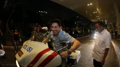 Drive M7 Aspar at Jakarta #RidersOnTour