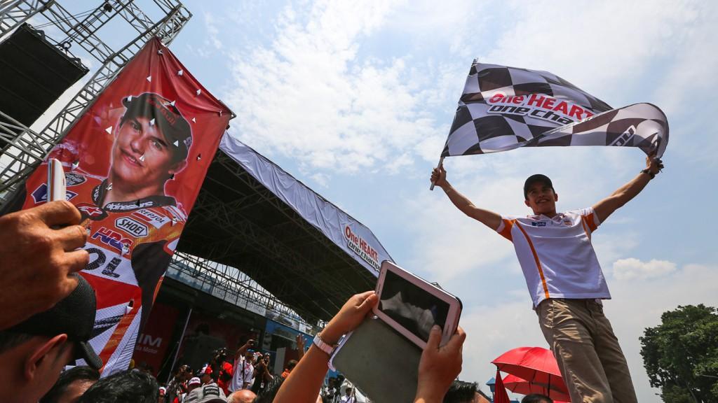 Marc Marquez, Repsol Honda Team - Sentul, Indonesia