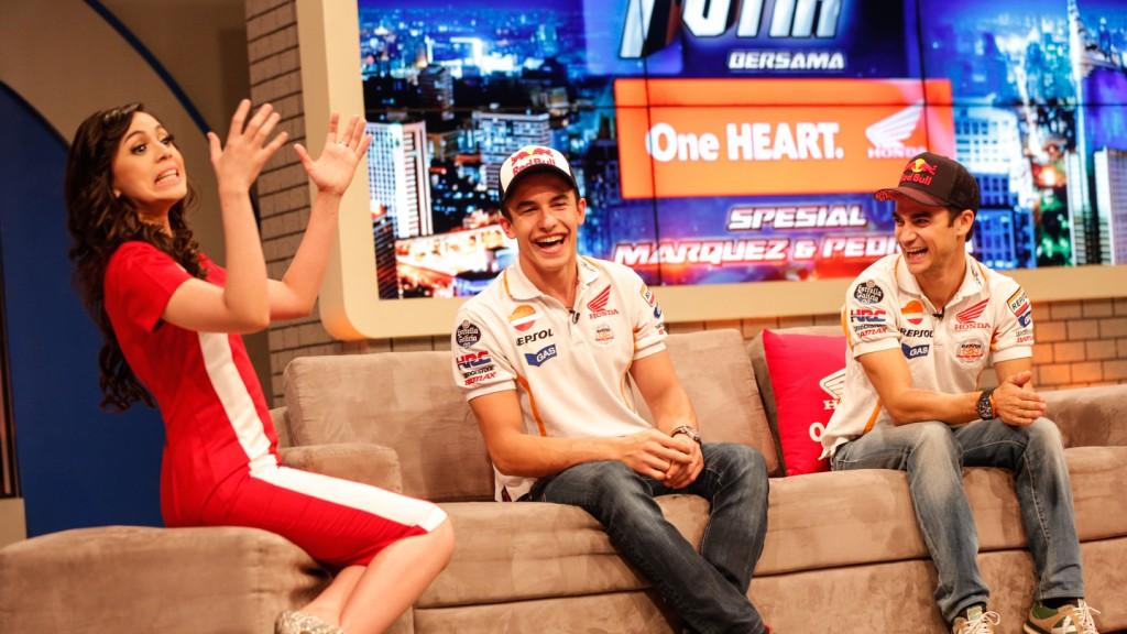 Marc Marquez, Dani Pedrosa, Repsol Honda Team - Sentul, Indonesia