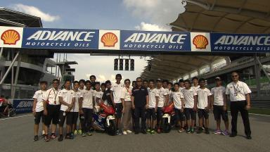Shell Advance Asia Talent Cup Photo Opportunity