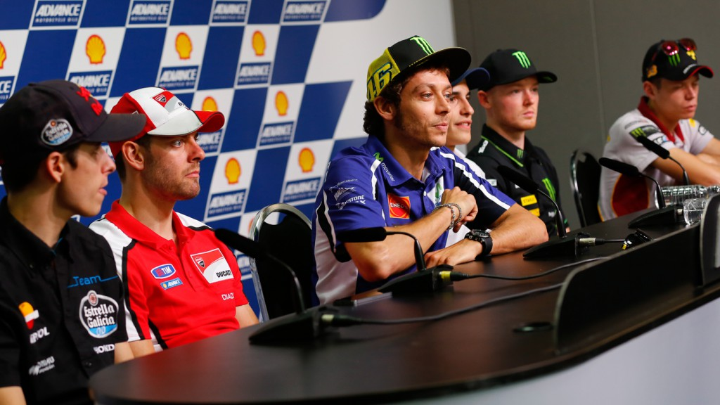 Shell Advance Malaysian Motorcycle GP Press conference