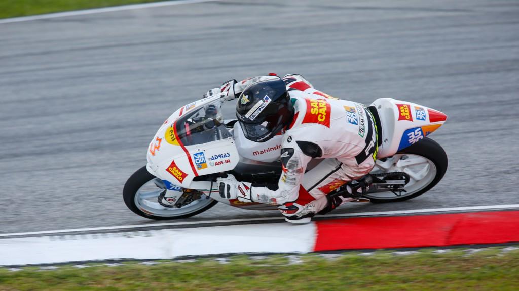 Matteo Ferrari, San Carlo Team Italia, MAL FP1