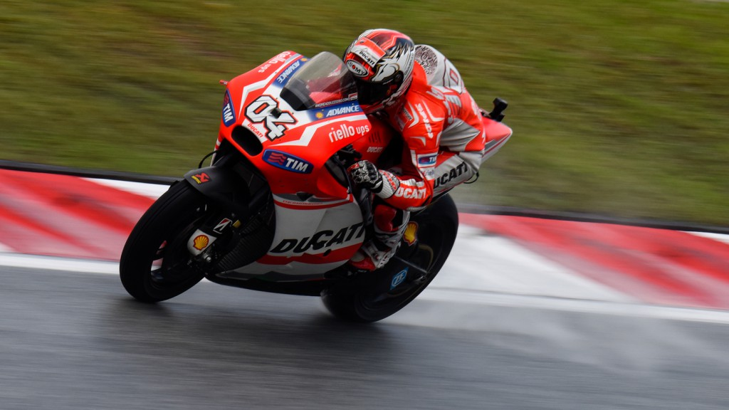 Andrea Dovizioso, Ducati Team, MAL FP2