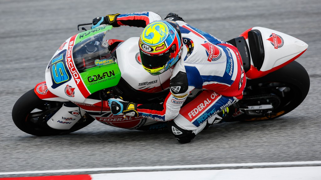 Xavier Simeon, Federal Oil Gresini Moto2, MAL FP2