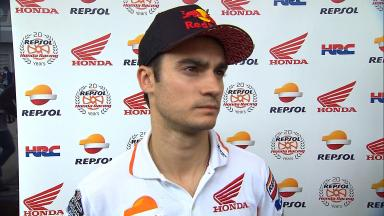 Pedrosa on setting the pace on day one