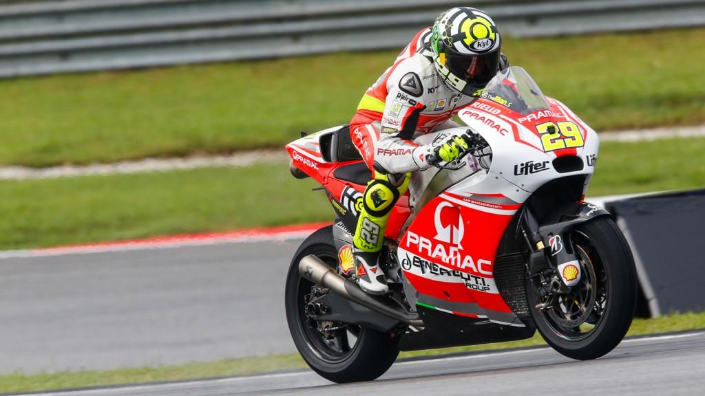 Andrea Iannone, Pramac Racing, MAL FP2