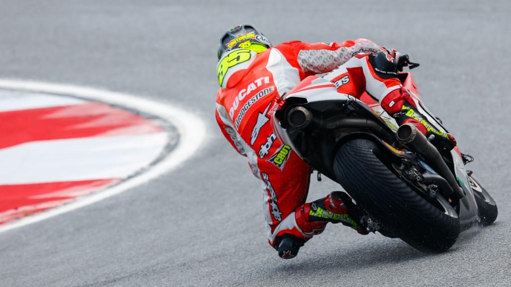 Cal Crutchlow, Ducati Team, MAL FP2