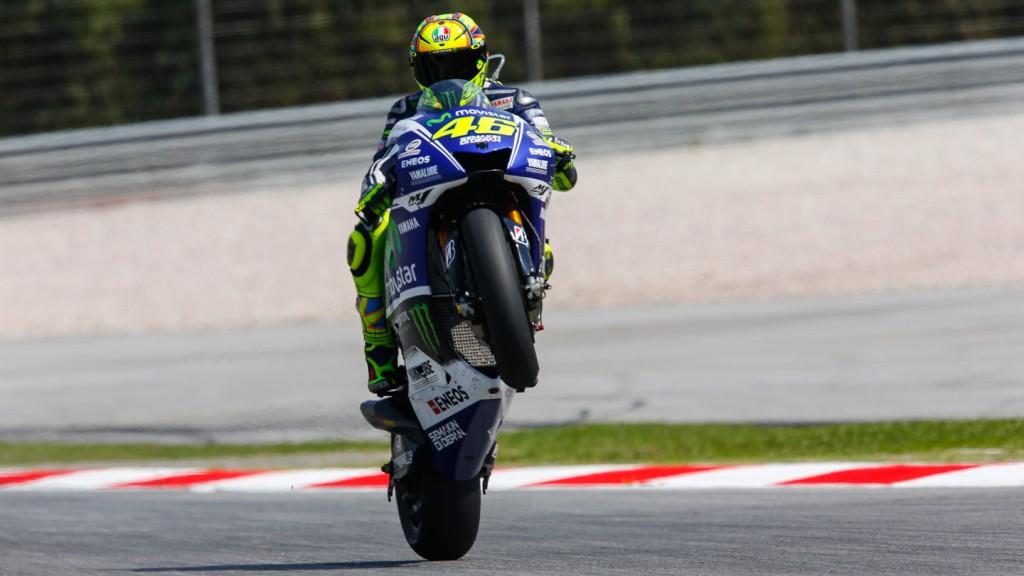 Valentino Rossi, Movistar Yamaha MotoGP, MAL FP1