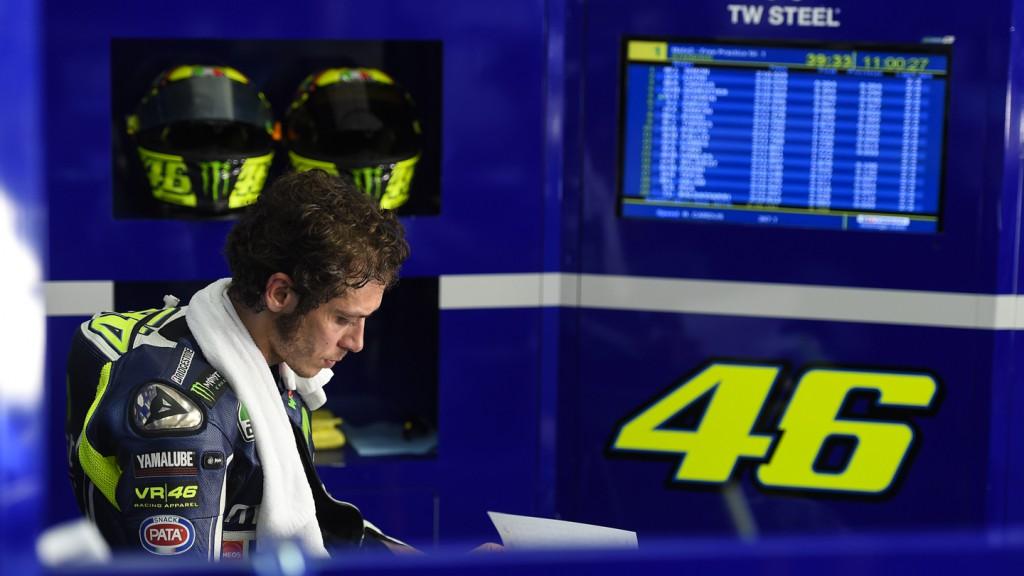 Valentino Rossi, Movistar Yamaha MotoGP, MAL FP2