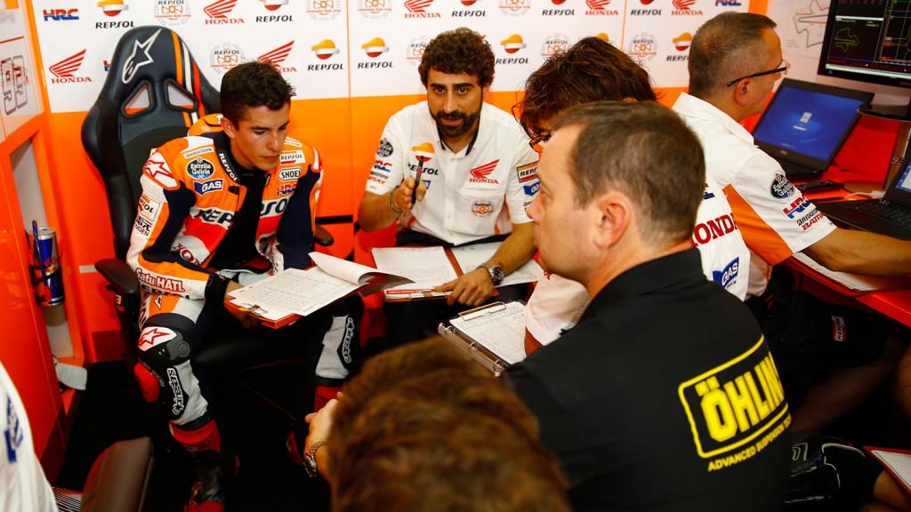 Marc Marquez, Repsol Honda Team, MAL FP2