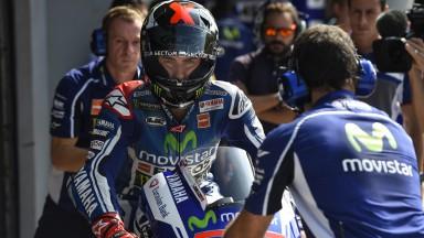 Jorge Lorenzo, Movistar Yamaha MotoGP, MAL FP1
