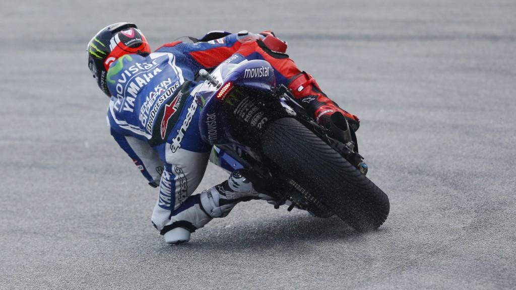 Jorge Lorenzo, Movistar Yamaha MotoGP, MAL FP2