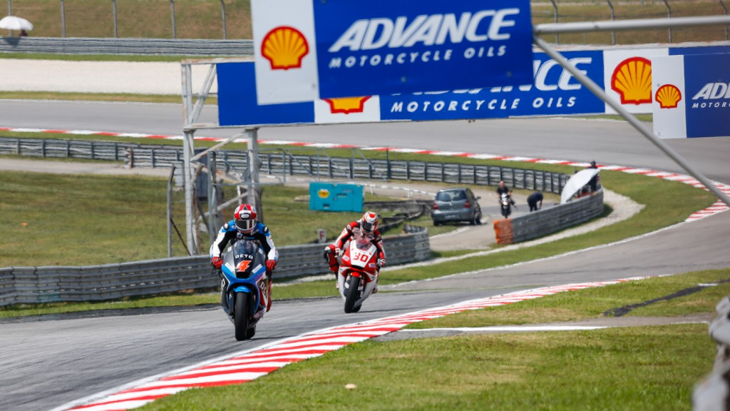 Moto2 Action, MAL FP2