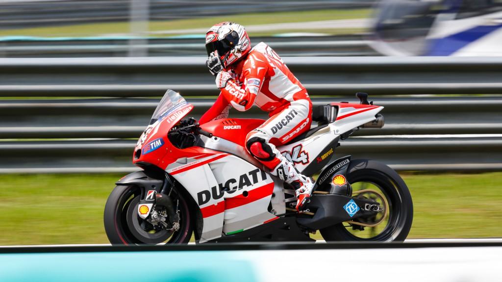 Andrea Dovizioso, Ducati Team, MAL Q2