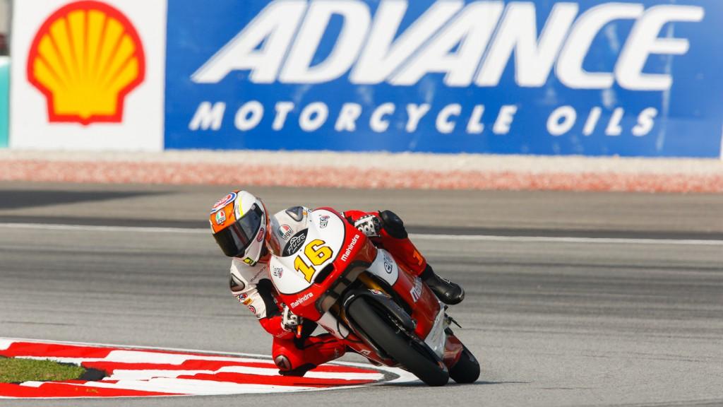 Andrea Migno, Mahindra Racing, MAL QP
