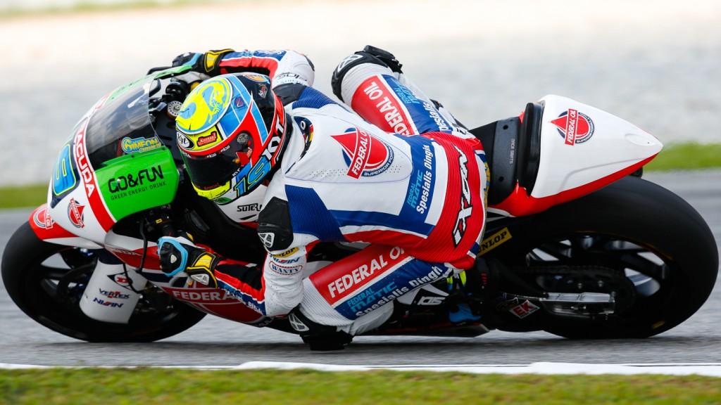 Xavier Simeon, Federal Oil Gresini Moto2, MAL QP