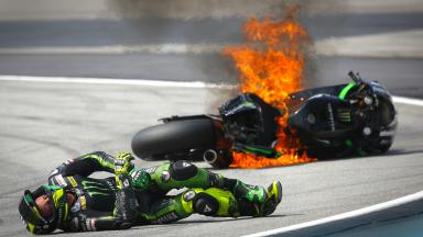 Sepang 2014 - MotoGP - FP3 - Action - Pol Espargaro - Crash