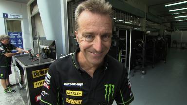 Hervé Poncharal reviews Pol Espargaro's FP3 crash