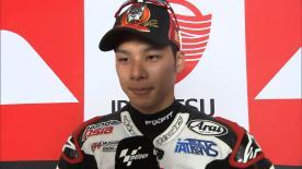 Sepang 2014 - Moto2 - QP - Interview - Takaaki Nakagami
