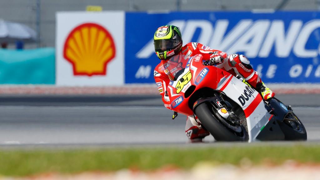Cal Crutchlow, Ducati Team, MAL Q2