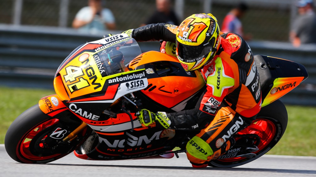 Aleix Espargaro, NGM Forward Racing, MAL Q2
