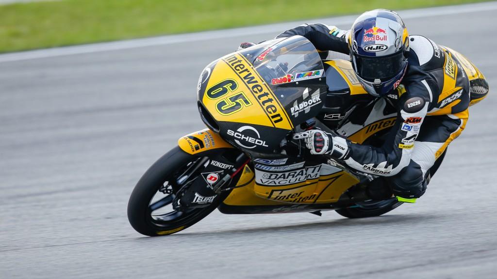 Philipp Oettl, Interwetten Paddock Moto3, MAL QP