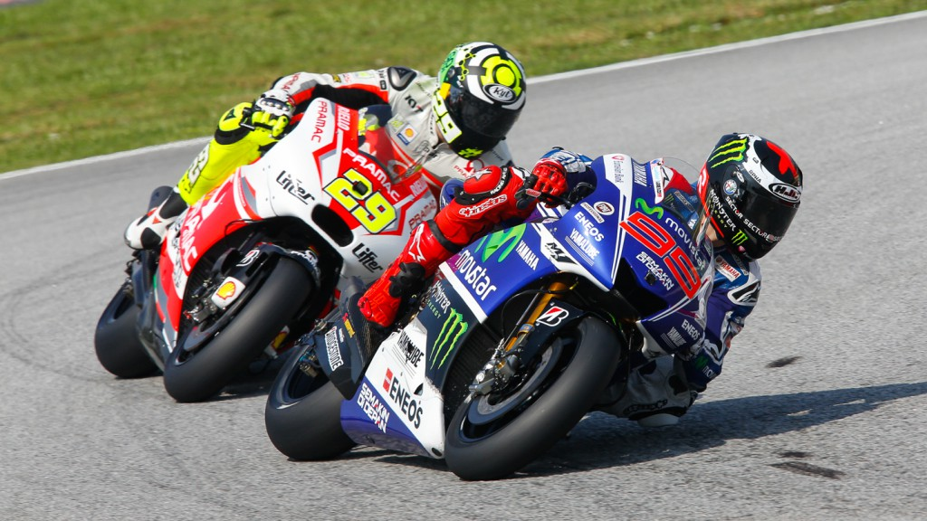 Andrea Iannone, Jorge Lorenzo, Pramac Racing, Movistar Yamaha MotoGP, MAL FP3