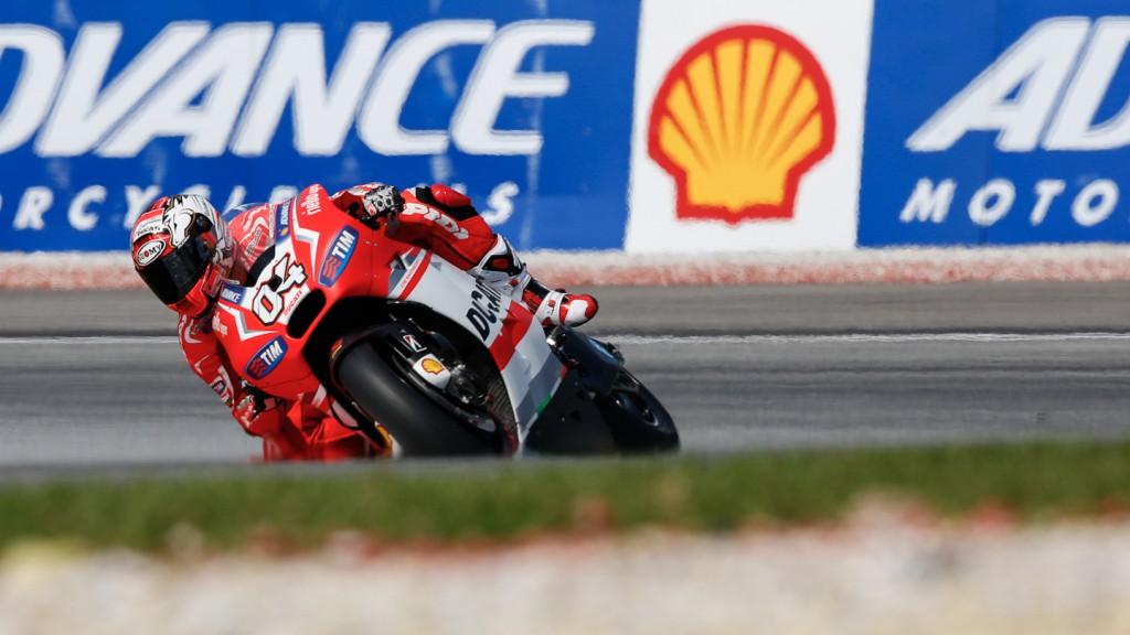 Andrea Dovizioso, Ducati Team, MAL RACE