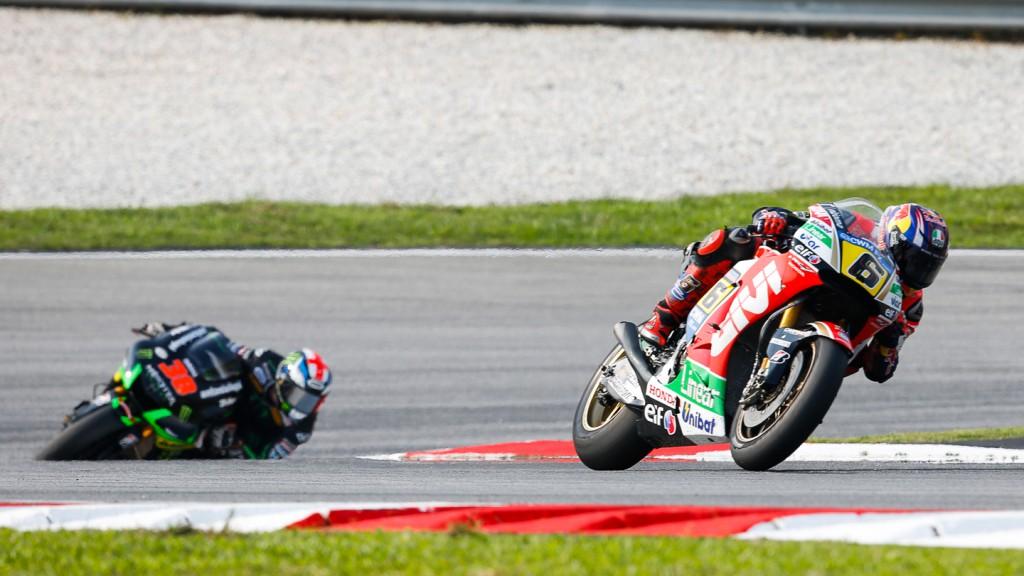 Stefan Bradl, LCR Honda MotoGP, MAL RACE