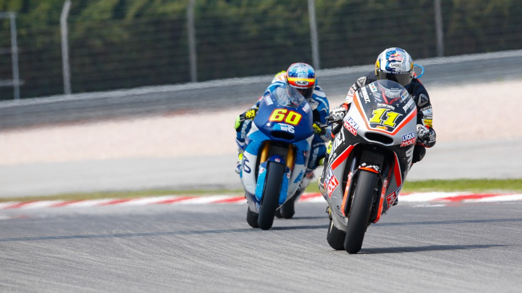 Sandro Cortese, Julian Simon, Dynavolt Intact GP, Italtrans Racing Team, MAL RACE