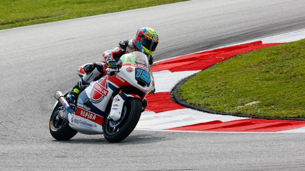 Xavier Simeon, Federal Oil Gresini Moto2, MAL WUP