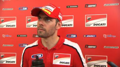 Crutchlow's Sepang race cut short by electrical fault