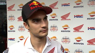 Pedrosa on two crashes which end his round 17 race