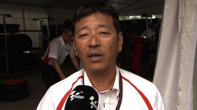 Sepang 2014 - MotoGP - RACE - Interview - Hiroshi Yamada