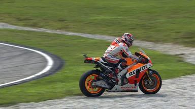 Sepang 2014 - MotoGP - WUP - Action - Marc Marquez