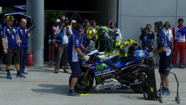 Sepang 2014 - MotoGP - WUP - Action - Valentino Rossi