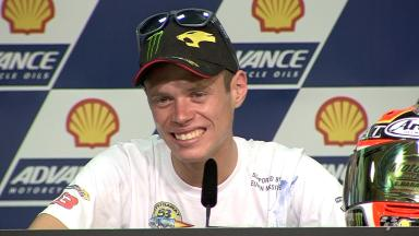 Moto2 World Champion Tito Rabat Press Conference