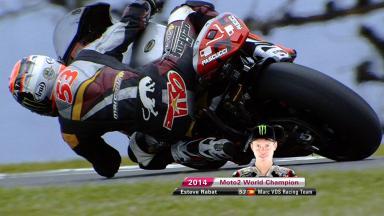 2014年Moto2™クラス王者‐エステベ・ラバット