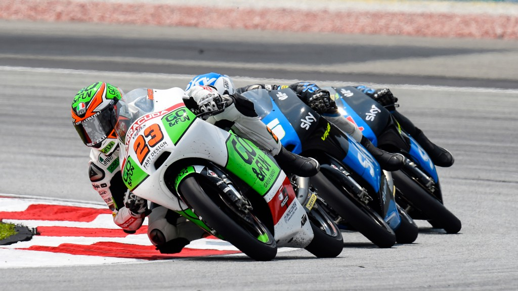 Niccolò Antonelli, Junior Team GO&FUN Moto3, MAL RACE