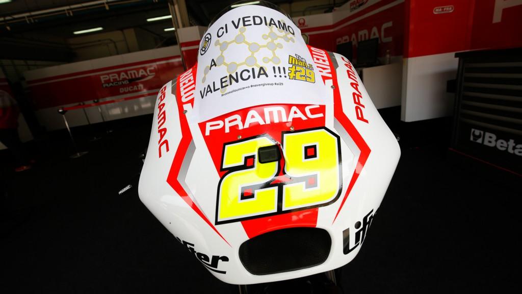 Andrea Iannone, Pramac Racing, MAL RACE