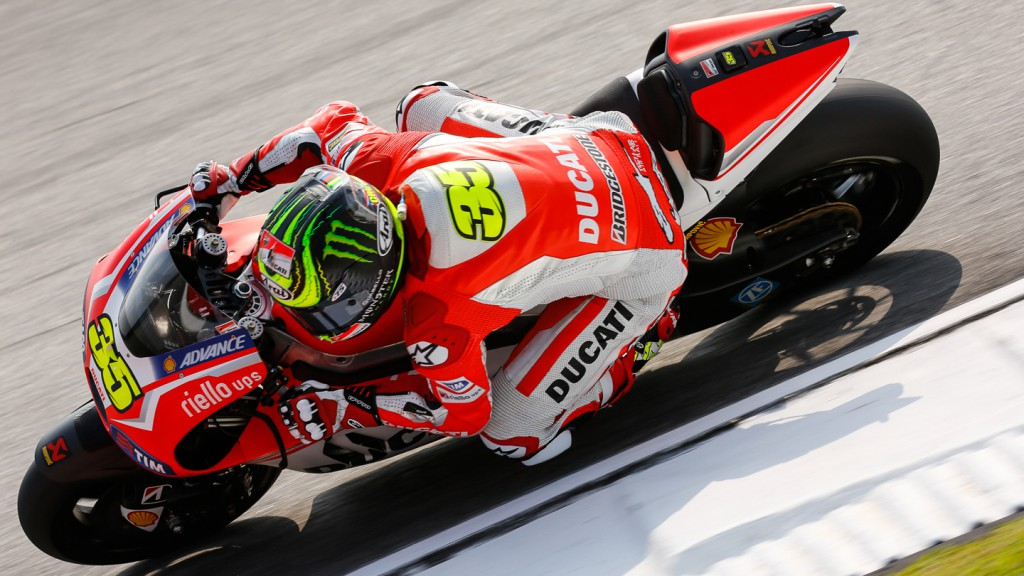 Cal Crutchlow, Ducati Team, MAL RACE